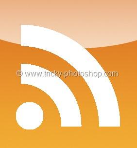 Create RSS icon using Photoshop CS6 | Tricky Photoshop