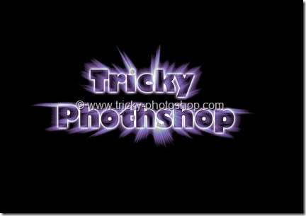 Create Bursting Text Effect in Photoshop CS6 | TrickyPhotoshop