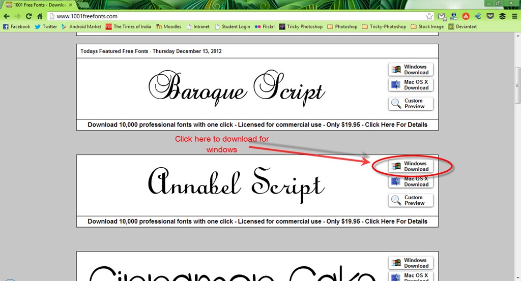 How to install fonts in photoshop trickyphotoshop trickyphotoshop 1thumb6 how to install fonts in photoshop trickyphotoshop ccuart Choice Image