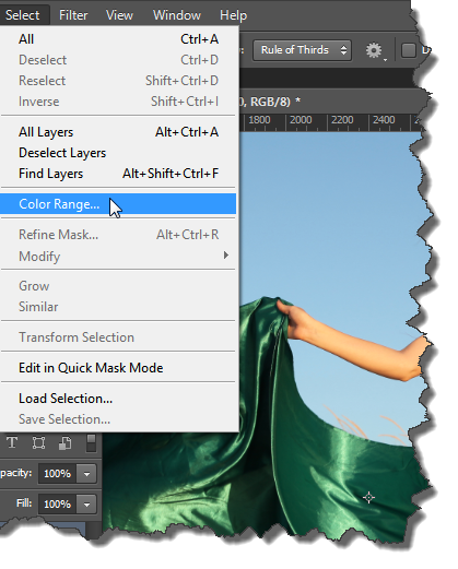Changing Specific Color Using Photoshop CS6