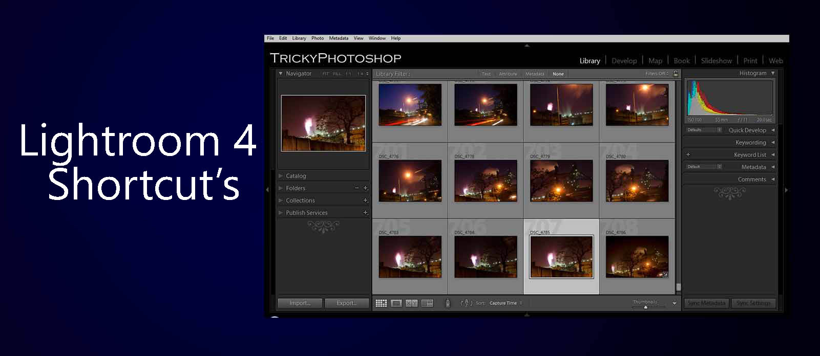 Learn Lightroom 4 Shortcut's | TrickyPhotoshop