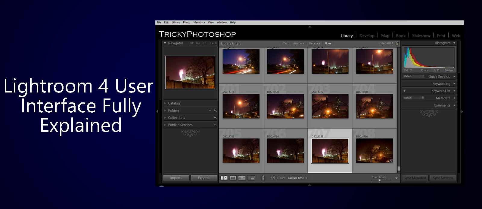 Lightroom 4 User Interface Explained | TrickyPhotoshop