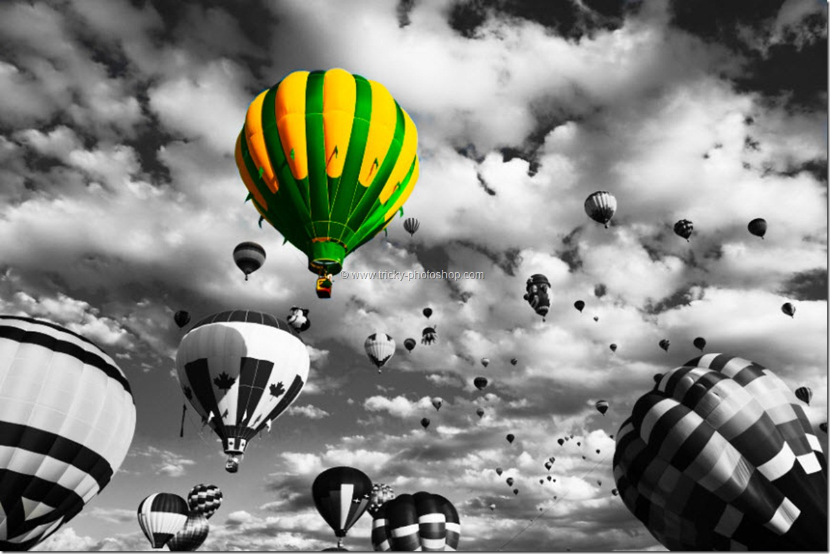 Partial Black & White Effect using Photoshop CS6 | TrickyPhotoshop