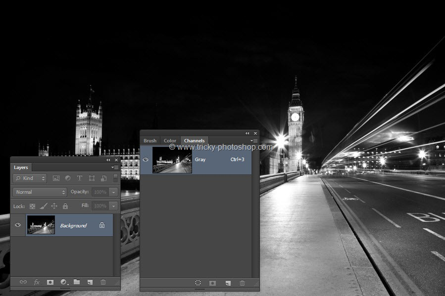 Prepare Grayscale Image for Printing Press using Photoshop | TrickyPhotoshop