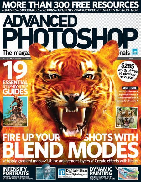 advanced-photosho - 4 Best Photoshop Magazines that are Worth Subscribing