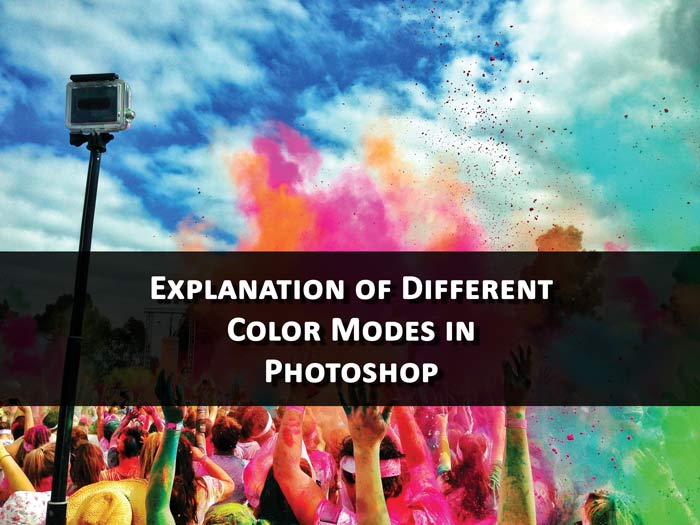 Explanation of Different Color Modes in Photoshop