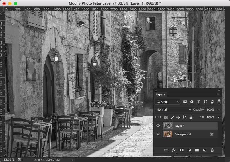 1-2 - Create Instagram Moon Effect in Photoshop