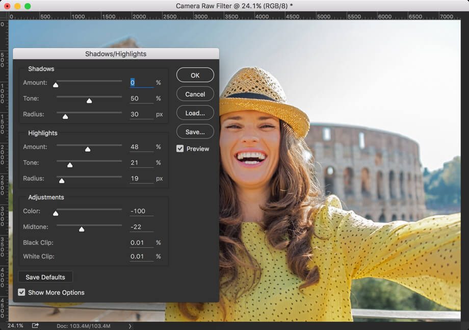 1 - Create Instagram Gingham Effect on Photoshop