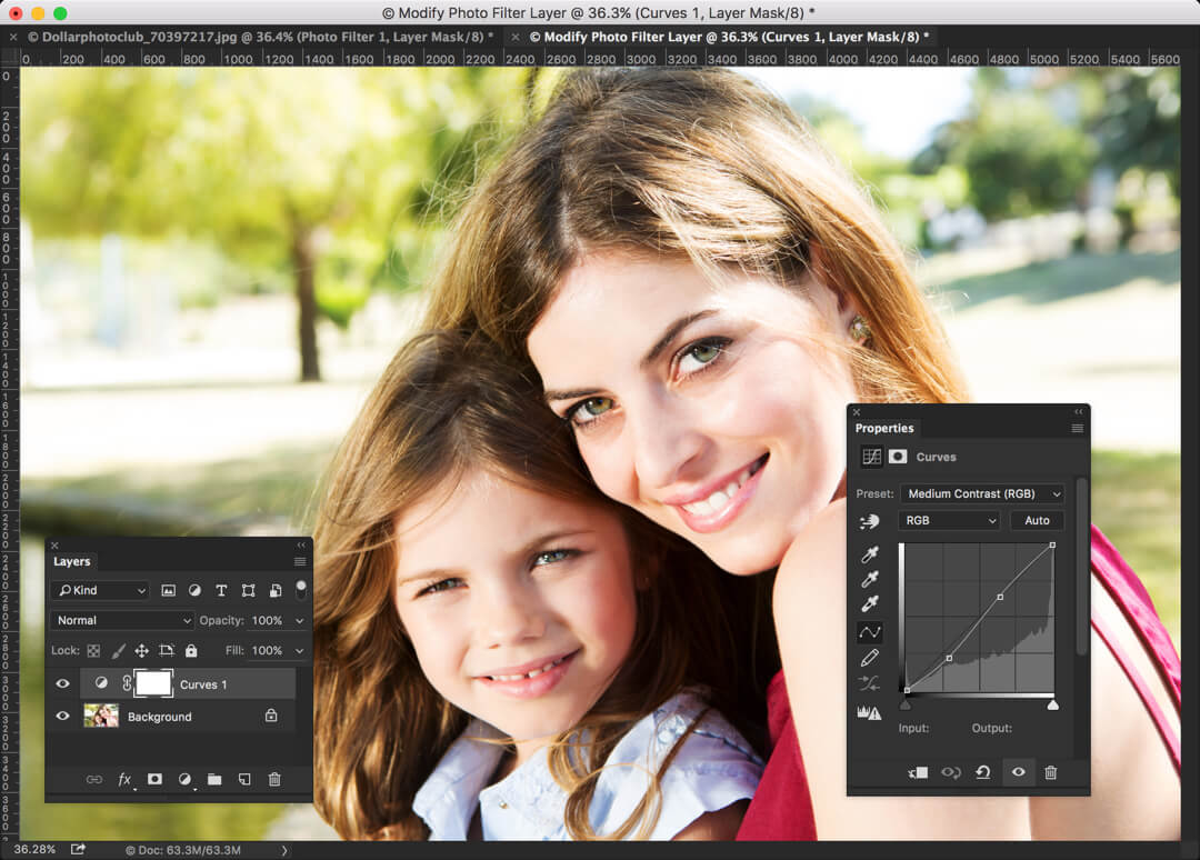 1-1 - How to Create Instagram Juno Effect in Photoshop