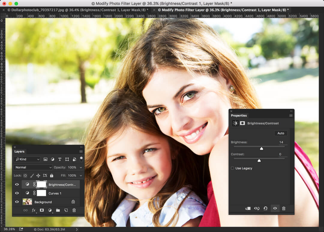 2-3 - How to Create Instagram Juno Effect in Photoshop