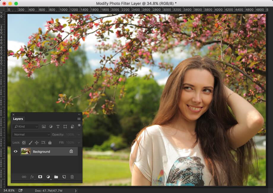 2 - Create Instagram Lark Effect in Photoshop