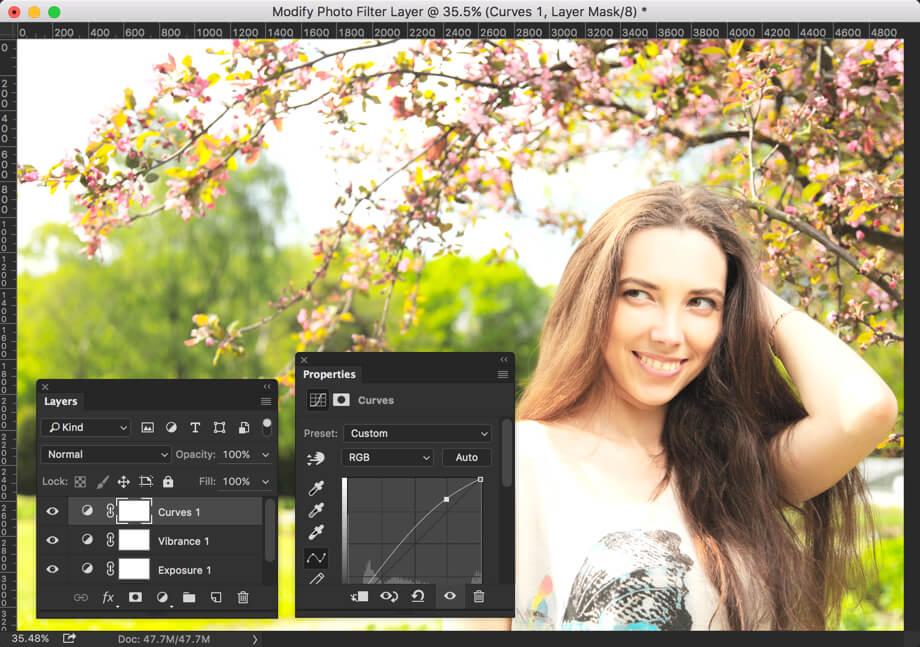 4 - Create Instagram Lark Effect in Photoshop