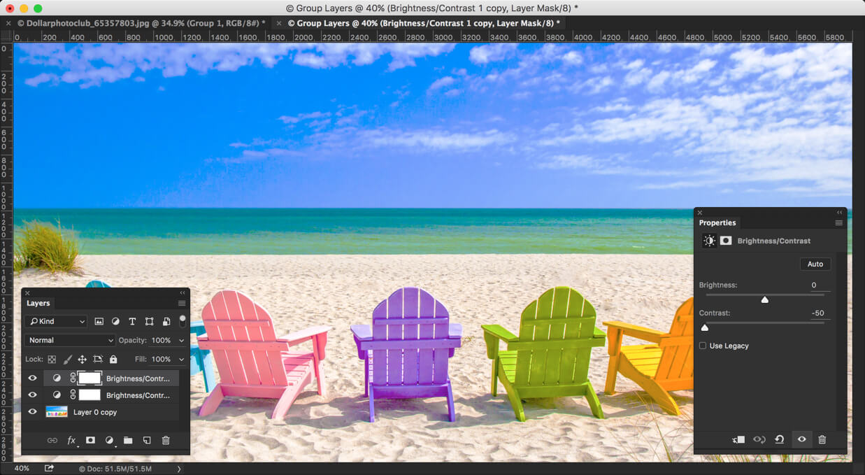 2 - Create Instagram Slumber Effect in Photoshop