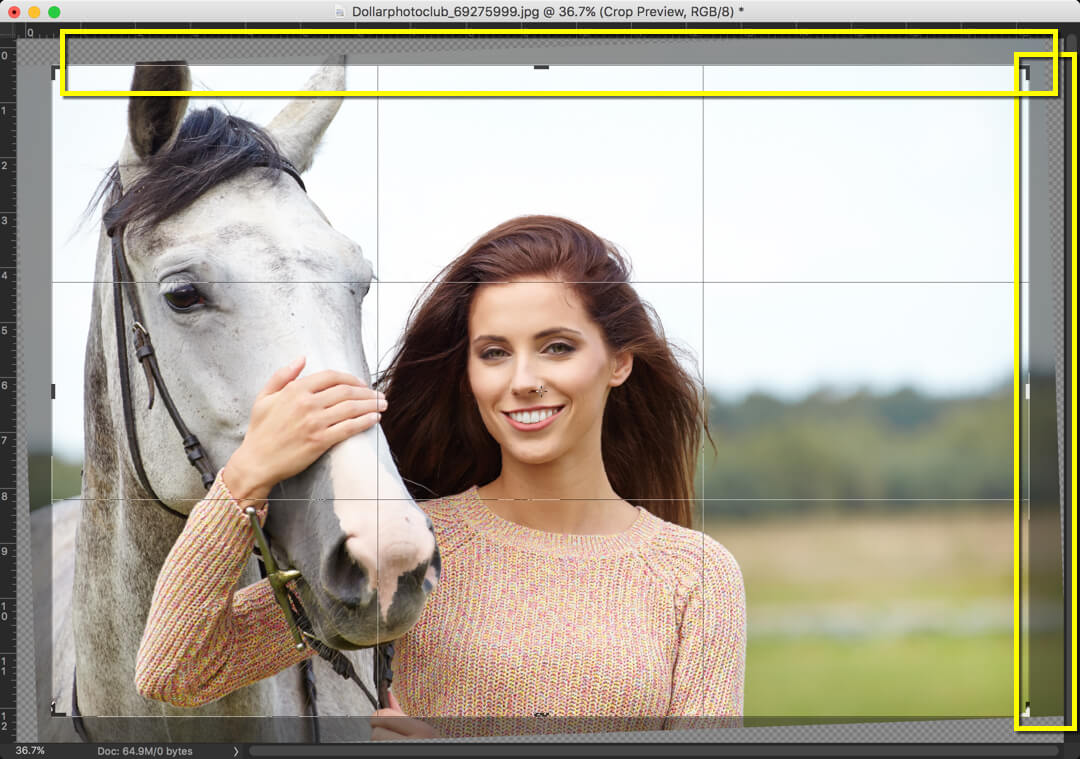 1-1 - Day 13: The Content Aware Crop Tool in Photoshop