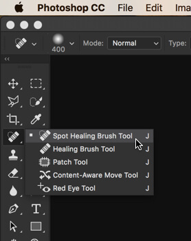 1 - Day 14: Spot Healing Brush Tool in Photoshop
