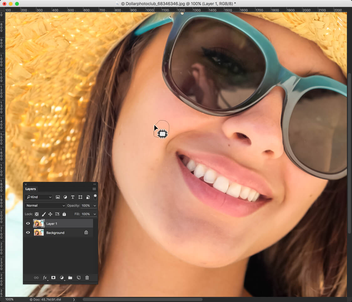 3-2 - Day 16: Patch Tool in Photoshop - How to Use it