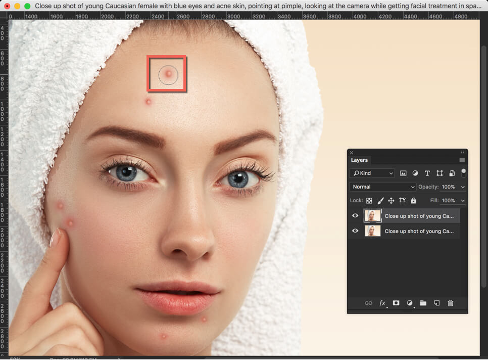 3 - Day 14: Spot Healing Brush Tool in Photoshop