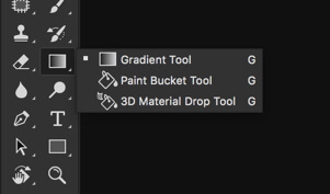 2-1 - Gradient Tool in Photoshop