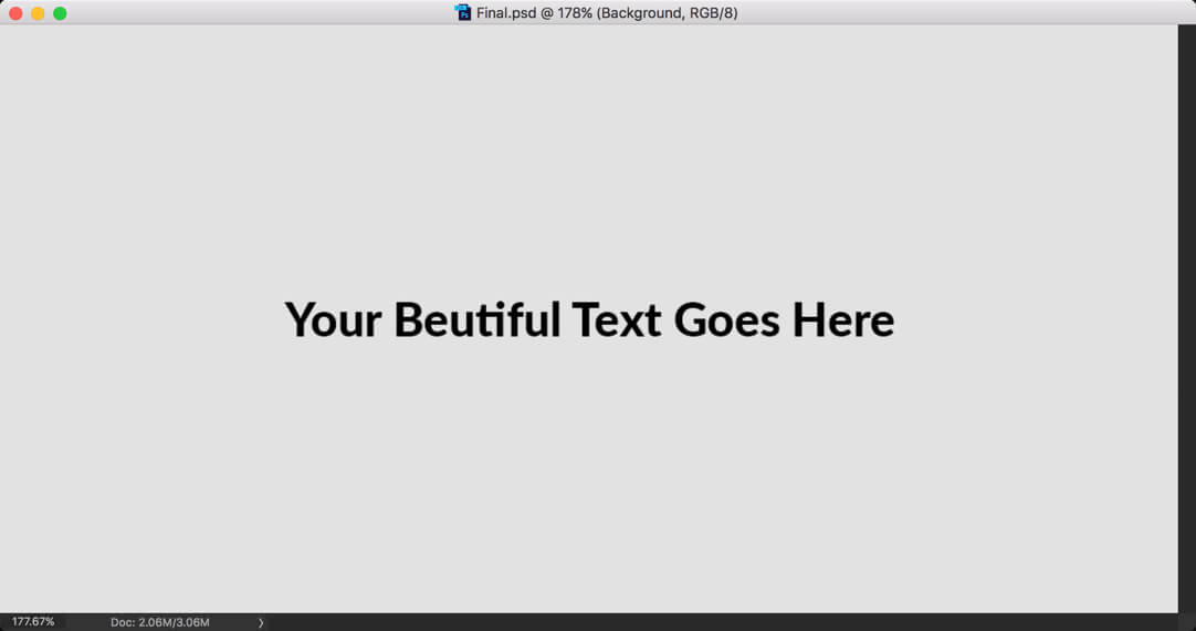 Final - Day 20: Photoshop: Text Tool - Your Guide