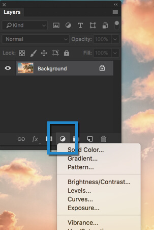 1-1 - Day 24 - Adjustment Layers in Photoshop - Solid Color, Gradient, Pattern, Brightness, Levels, Curves, and Exposure