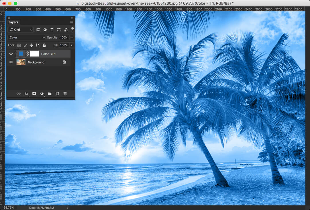 3-1 - Day 24 - Adjustment Layers in Photoshop - Solid Color, Gradient, Pattern, Brightness, Levels, Curves, and Exposure