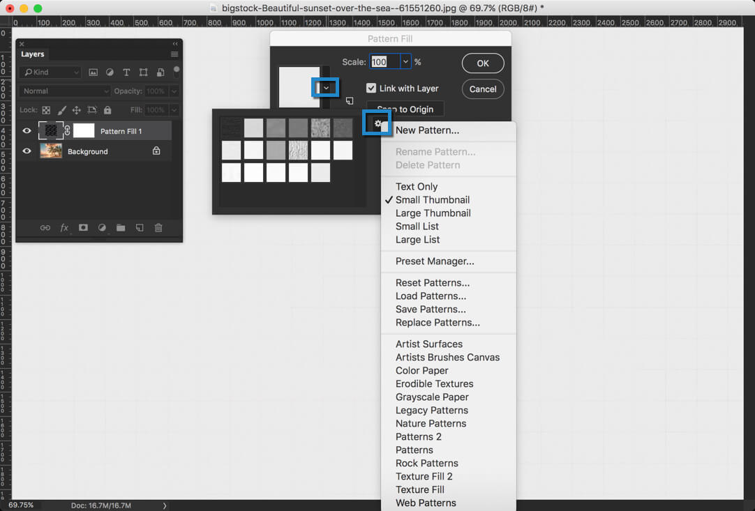 5-1 - Day 24 - Adjustment Layers in Photoshop - Solid Color, Gradient, Pattern, Brightness, Levels, Curves, and Exposure