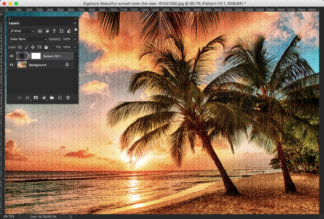 6-1 - Day 24 - Adjustment Layers in Photoshop - Solid Color, Gradient, Pattern, Brightness, Levels, Curves, and Exposure