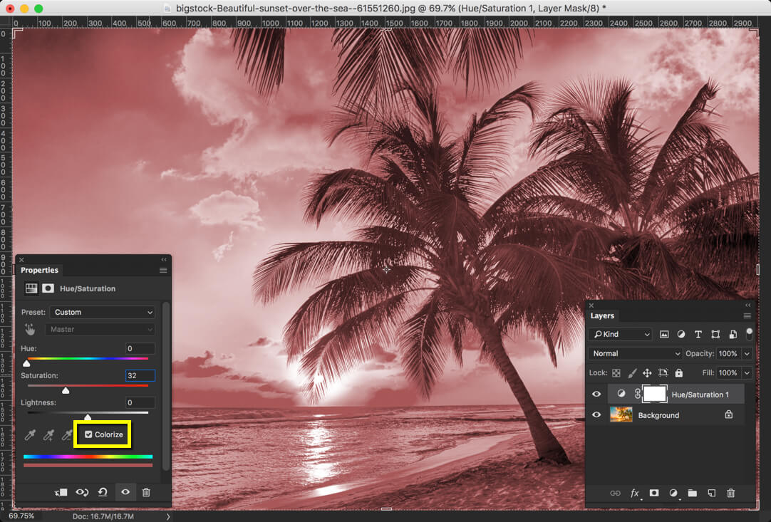 3-2 - Day 25 - Adjustment Layers in Photoshop - Solid Color, Gradient, Pattern, Brightness, Levels, Curves, and Exposure