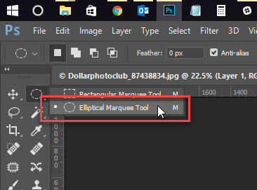 1 - How to Crop an Image in a Circle in Photoshop