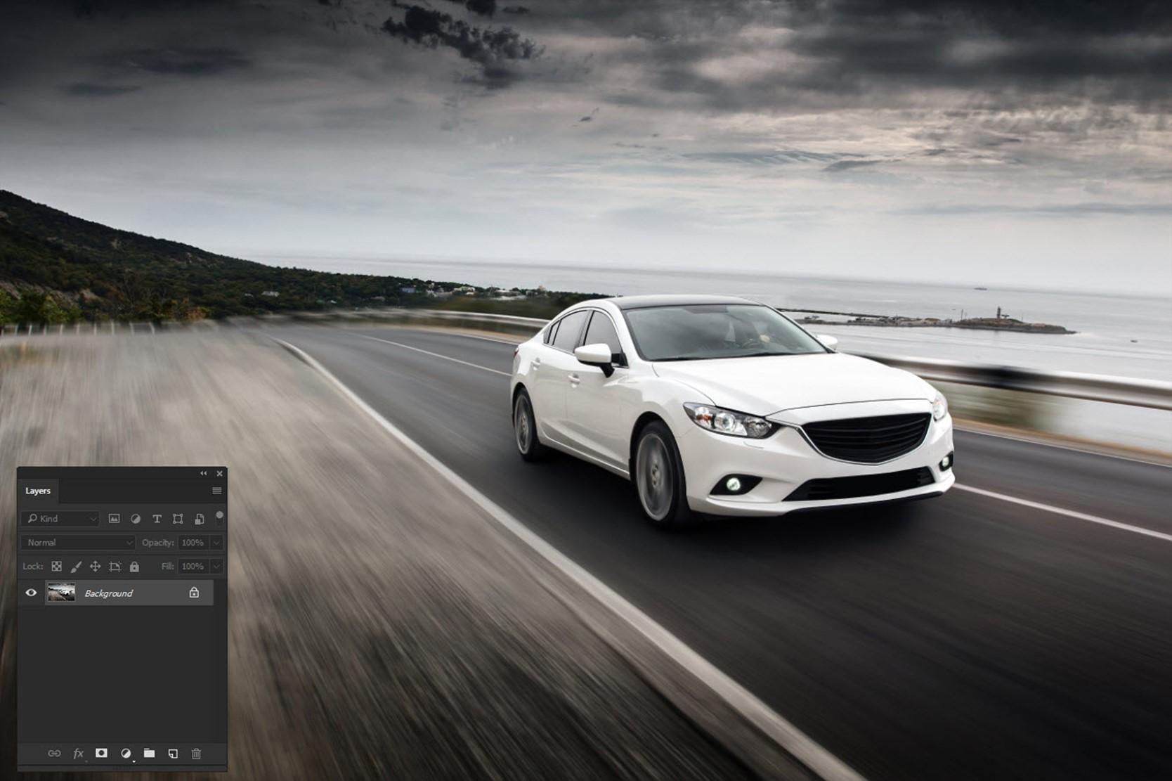 091017_1237_AddRealisti1 - Add Realistic Headlights in Car using Photoshop