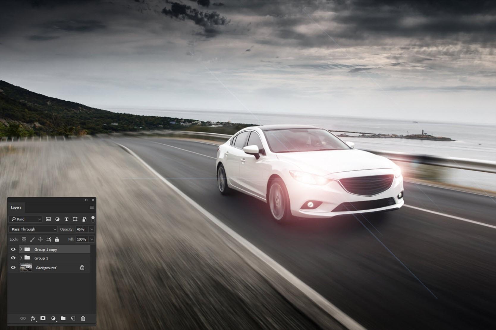 091017_1237_AddRealisti2 - Add Realistic Headlights in Car using Photoshop
