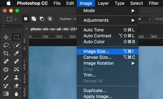 1 - How to Adjust the Image Size in Photoshop?