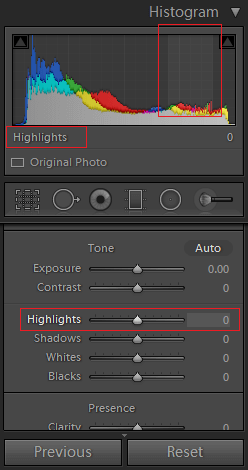 7_highlights_a - What is Histogram in Lightroom - A Simple Guide