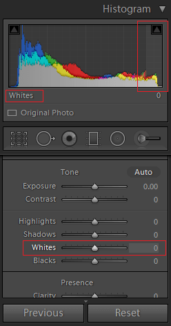 8_whites_a - What is Histogram in Lightroom - A Simple Guide