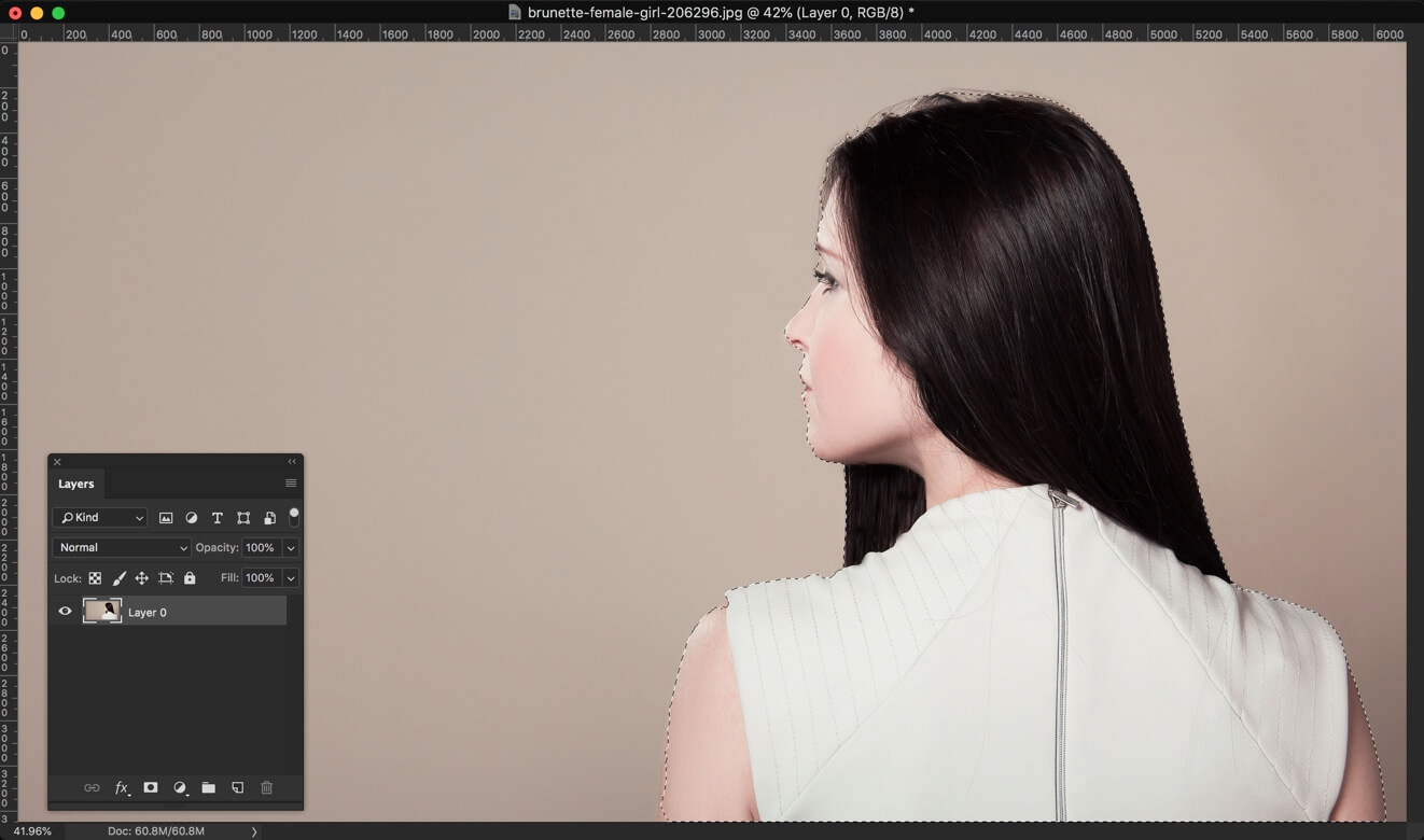 2-2 - 3 Steps to Change the Hair Color in Photoshop and Look Better