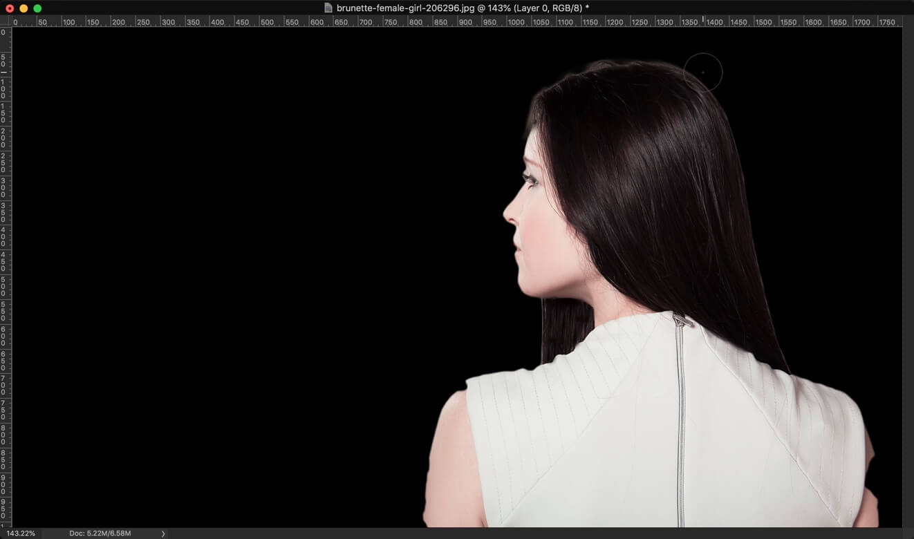 3-2 - 3 Steps to Change the Hair Color in Photoshop and Look Better