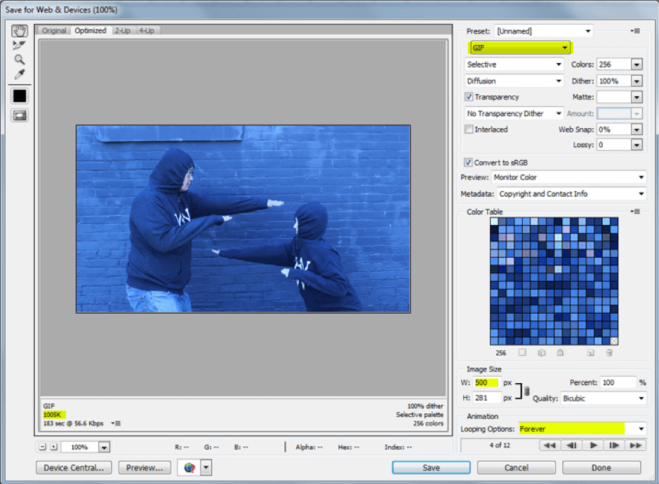 picture8 - How to сreate a GIF in Photoshop