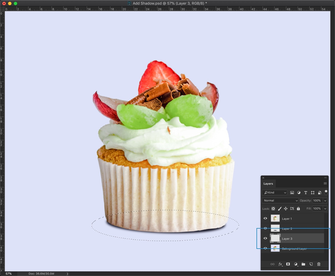 how to delete selection in photoshop cc
