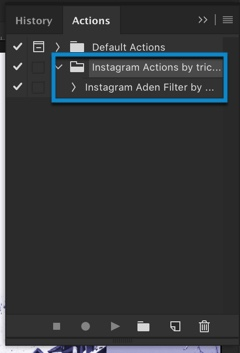 4-1 - How to Load or Import Actions in Photoshop
