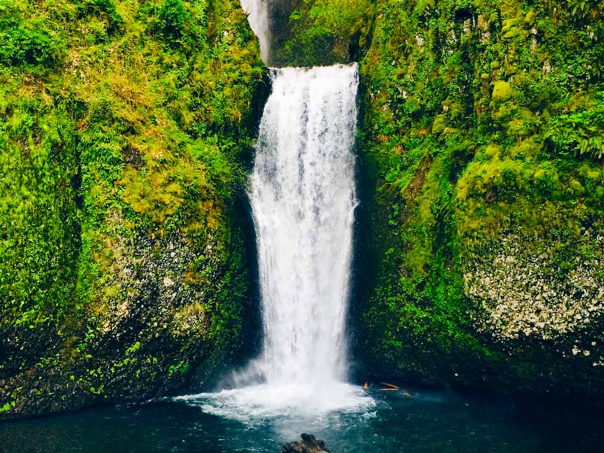 Initial - Create a Silky and Smooth Waterfall in Photoshop