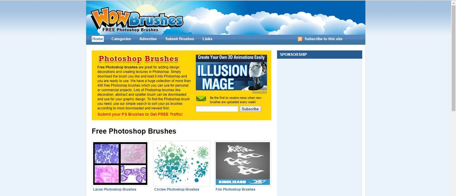 1-3 - Best 14 Websites to Download Free Photoshop Brushes