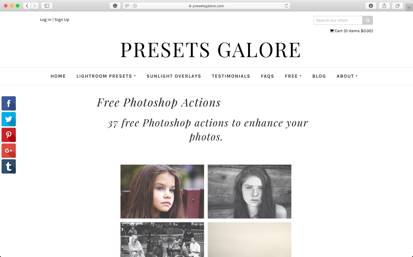 10-3 - Best 10 Sites to Download Free Photoshop Actions
