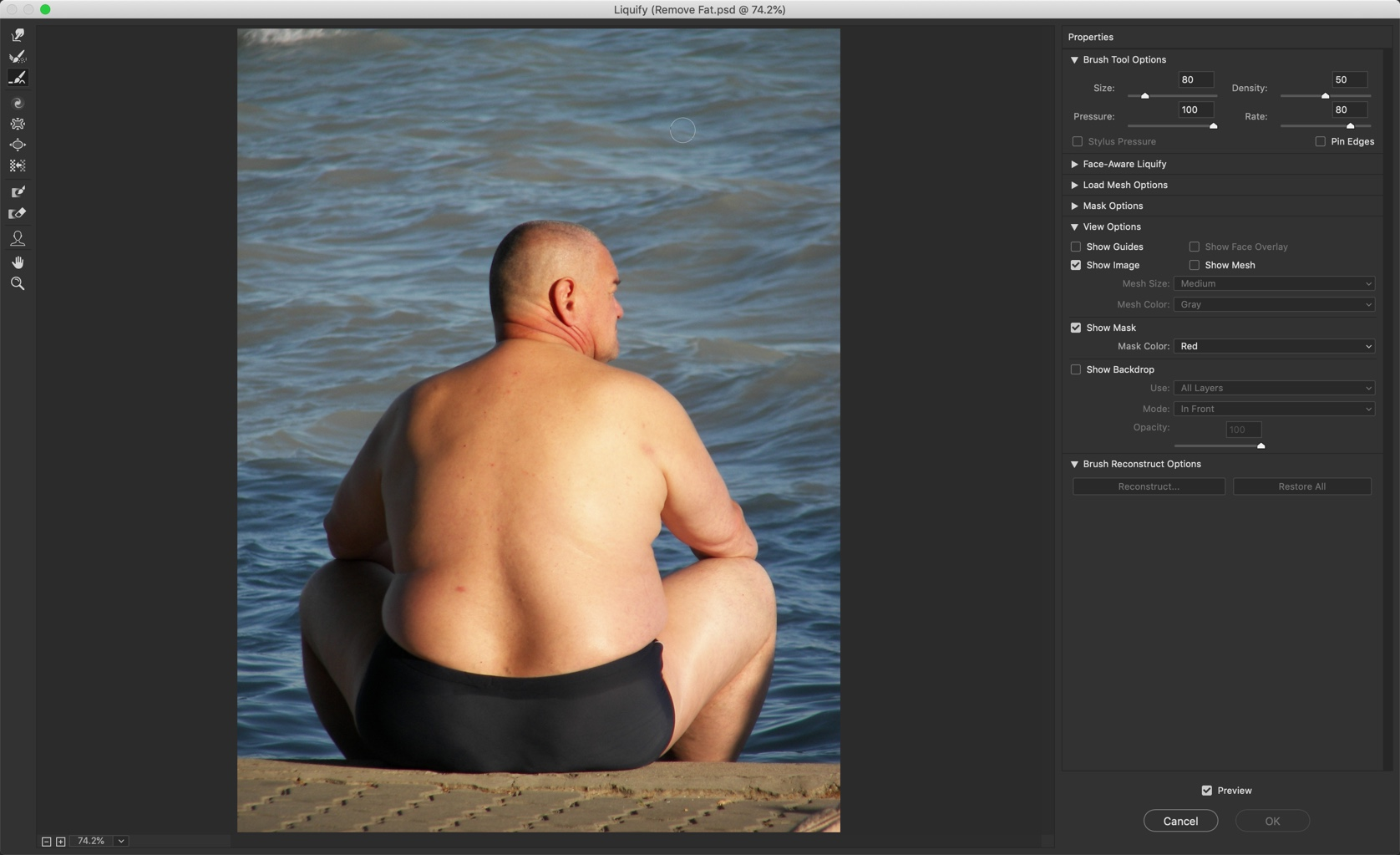 3-2 - The Ultimate Guide to Remove Fat in Photoshop
