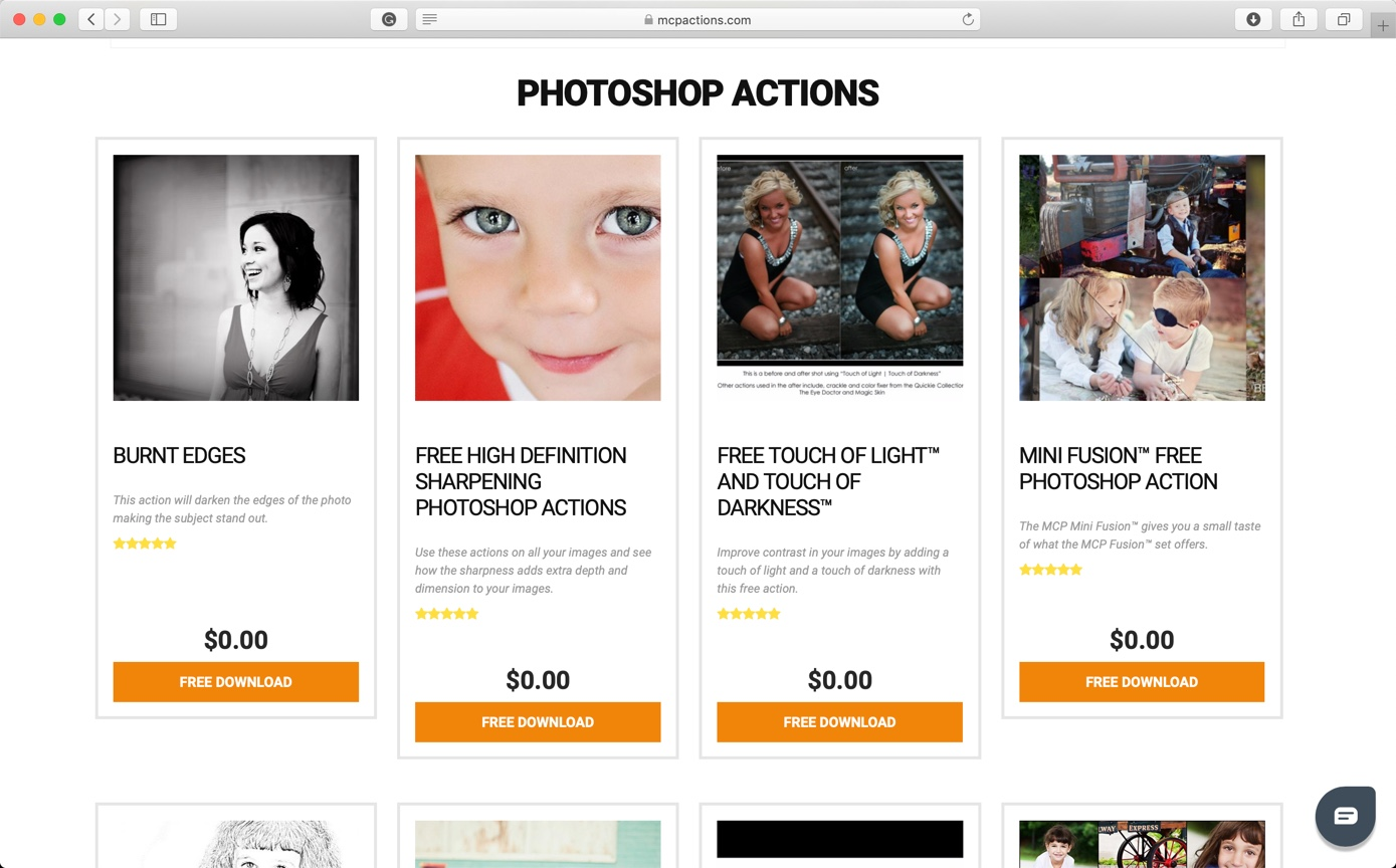 5-4 - Best 10 Sites to Download Free Photoshop Actions