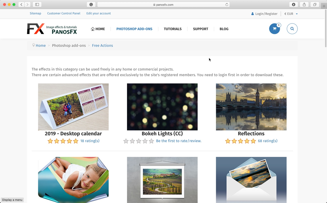 7-4 - Best 10 Sites to Download Free Photoshop Actions