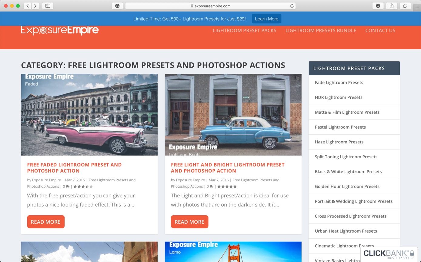 Best 10 Sites to Download Free Photoshop Actions