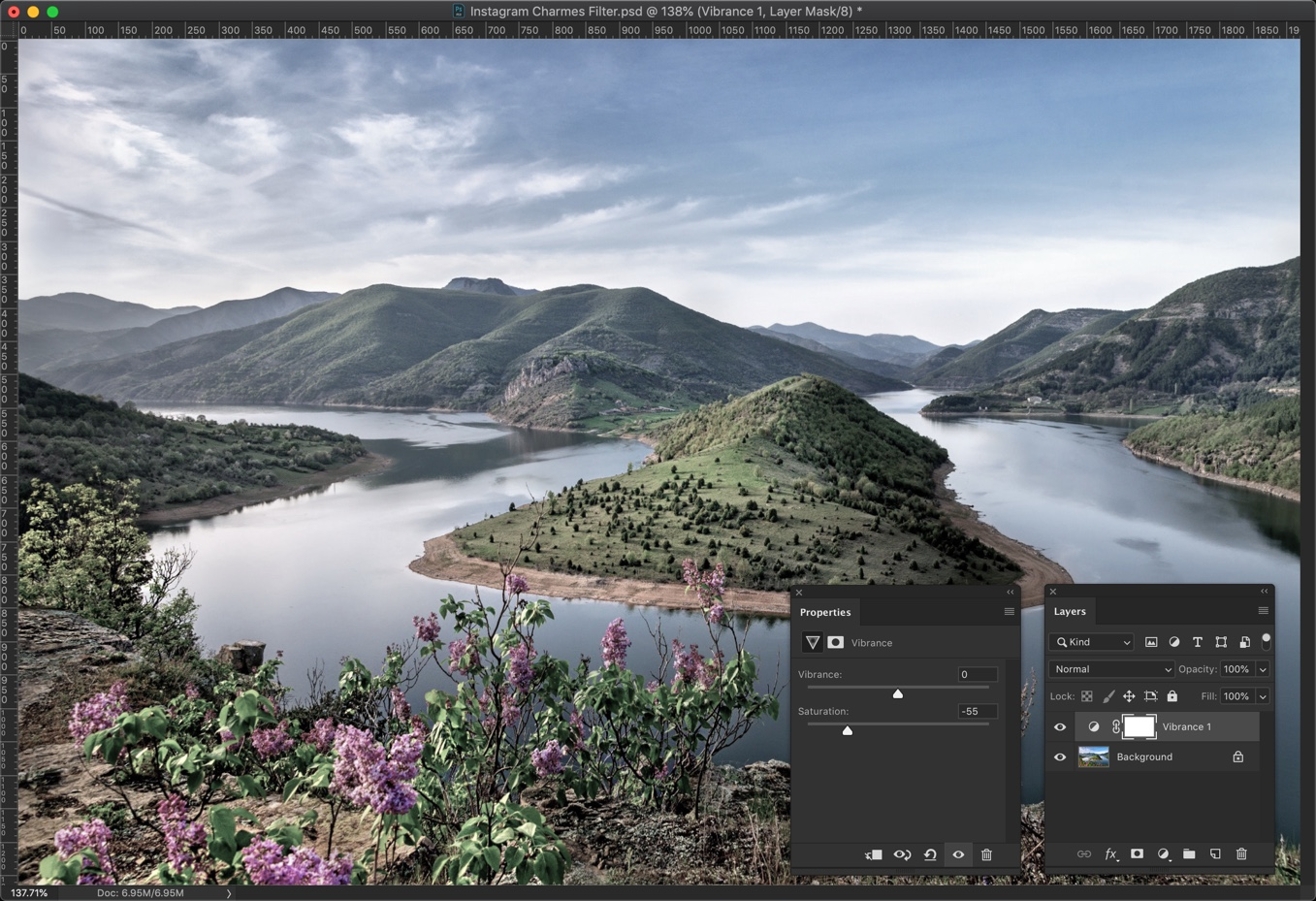 1-1 - Create Instagram Charmes Filter in Photoshop [Action Included]