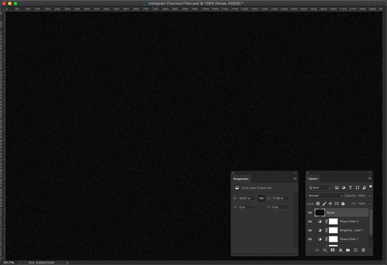 13 - Create Instagram Charmes Filter in Photoshop [Action Included]