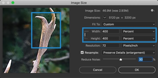 7-2 - The Ultimate Guide to Enlarge Photos in Photoshop