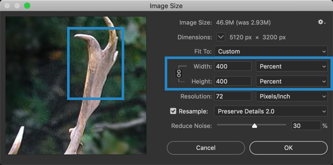 8-2 - The Ultimate Guide to Enlarge Photos in Photoshop